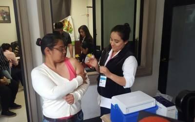 Instalan Módulo De Vacunación Contra La Influenza En La