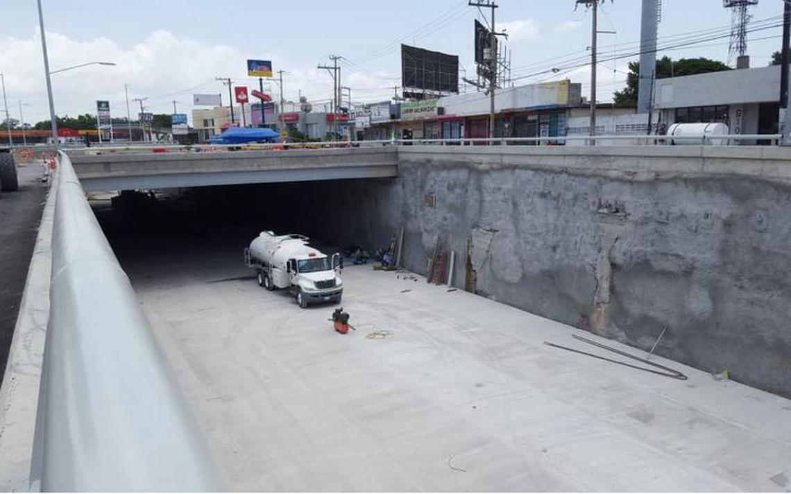 Reanudan trabajos en el paso vehicular inferior San Pedro - El Sol ...