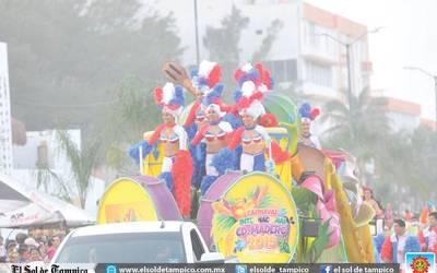 Gran fiesta de carnaval vive Ciudad Madero - El Sol de Tampico