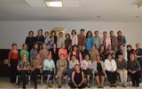 El club Multidisciplinario de Jubiladas y Pensionadas del IMSS, en su junta mensual