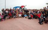 Una buena cantidad de participantes tuvo la carrera atlética de la Expropiación Petrolera.