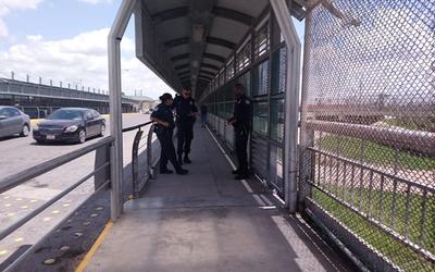 Prohíben a migrantes instalarse en puente Reynosa-Hidalgo
